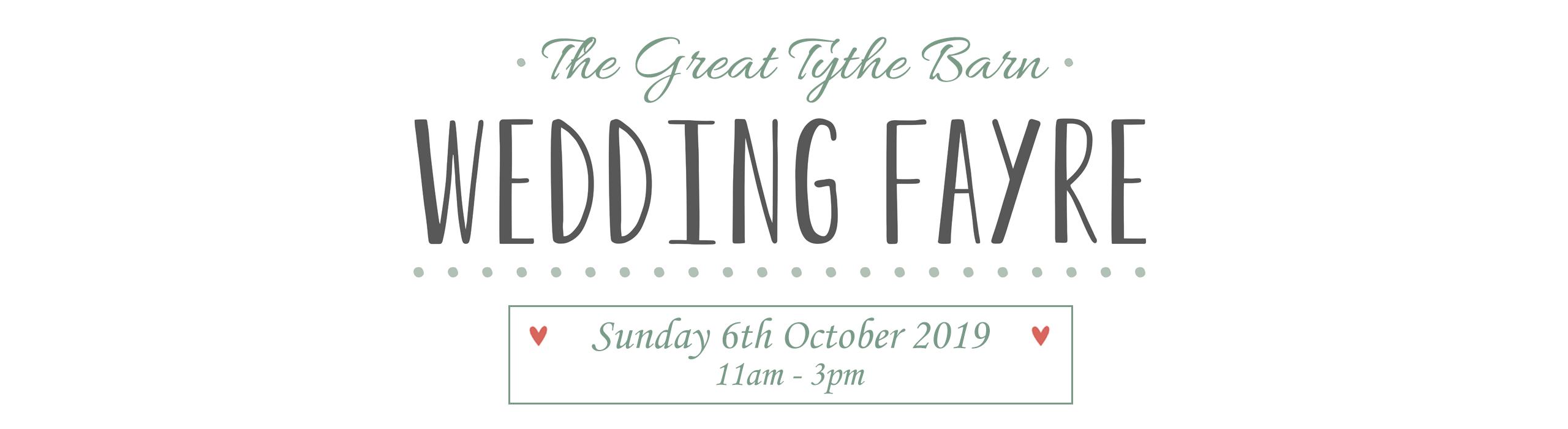 GTB Wedding Fayre October 2019