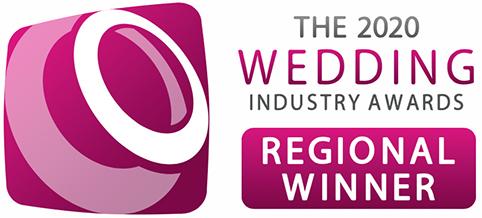 2020 Wedding Industry Awards Regional Winner logo