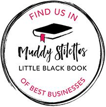 Muddy Stilettos Little Black Book Digital Sticker